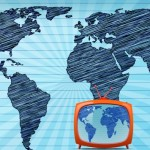 The television through the internet