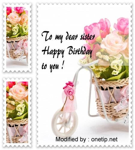 happy birthday text to my sister,send happy birthday wishes for sister,send nice happy birthday wishes for sister