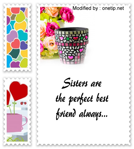 i love you wordings for sister,i love you poems for sister,thank you messages for sister