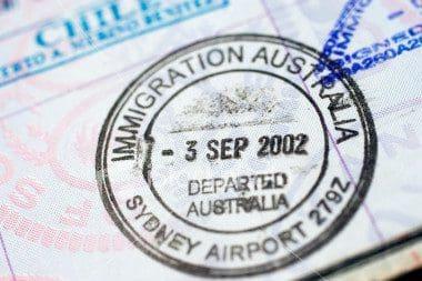 migrating australia