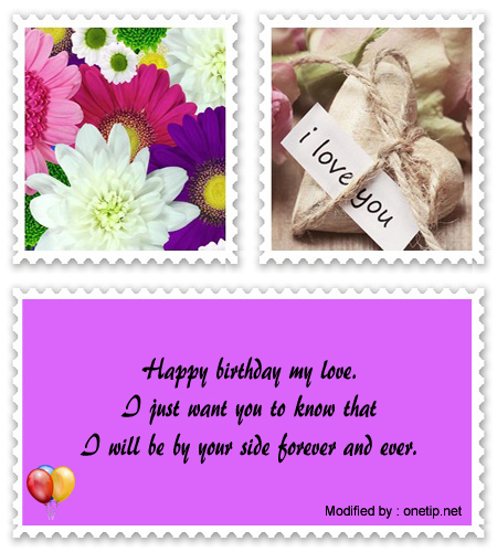 Sweet Happy Birthday My Love Text For Whatsapp