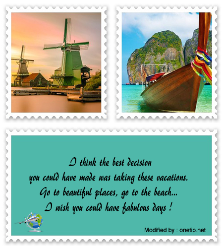 Best Phrases Wishing Good Vacations | Enjoy Your Vacation
