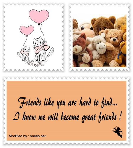 Top Messages For New Friends | Whatsapp Friendship Text