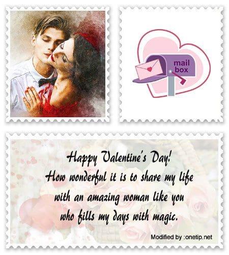Sample valentine message for husband