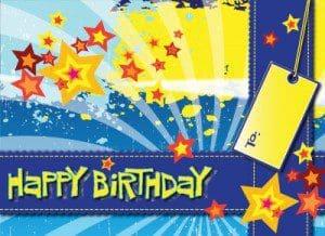 Birthday phrases, birthday sms, birthday thoughts