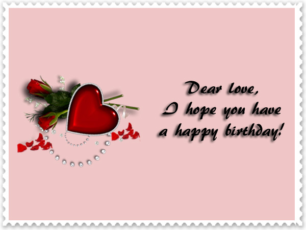 To www my wife love letter A Sample