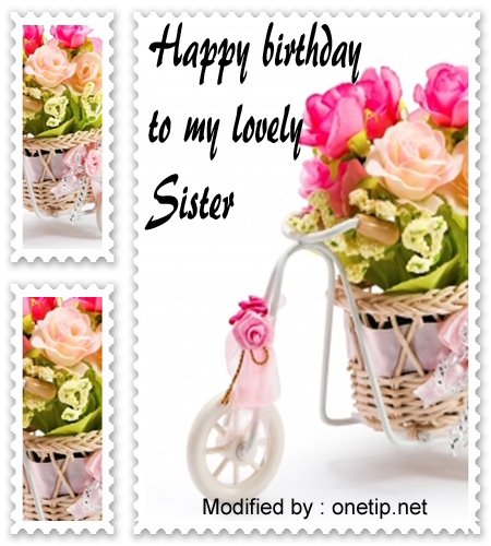 Good Birthday Greetings Quotes For My Sister Onetipnet