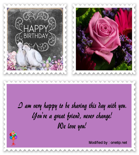 search nice birthday sayings for my girlfriend